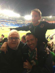 Declan, Martin & Cian Cardiff