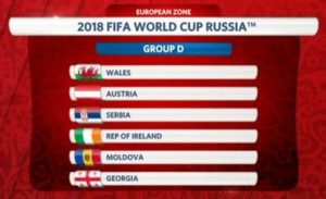 WC 2018 Qualifying Group D Review Page