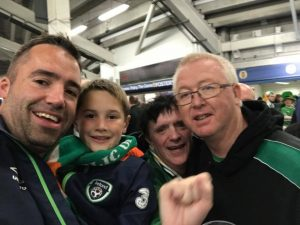 Martin, Cian, Tommy & John Cardiff