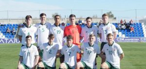Ireland U18 (v Belgium 2017)