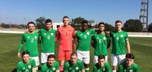 Ireland U19 (v Slovakia 2018)