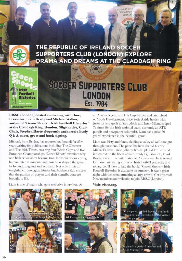 The Craic is Back Article March 2018