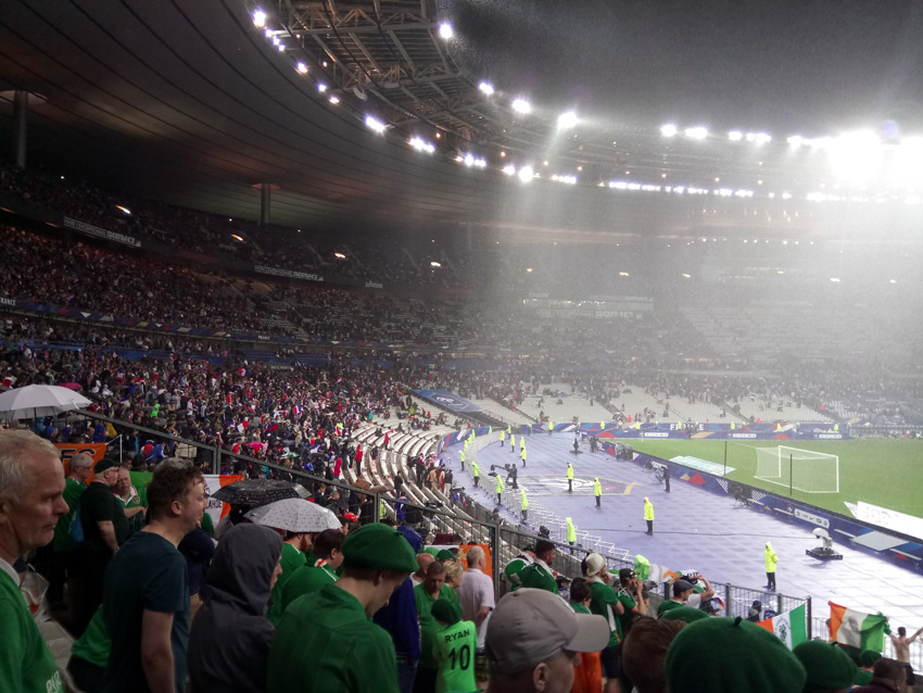 Paris Downpour at Stade de France