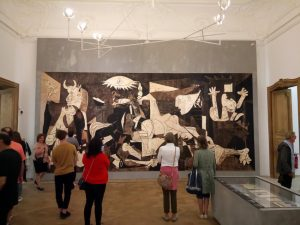Paris Guernica at Picasso Museum