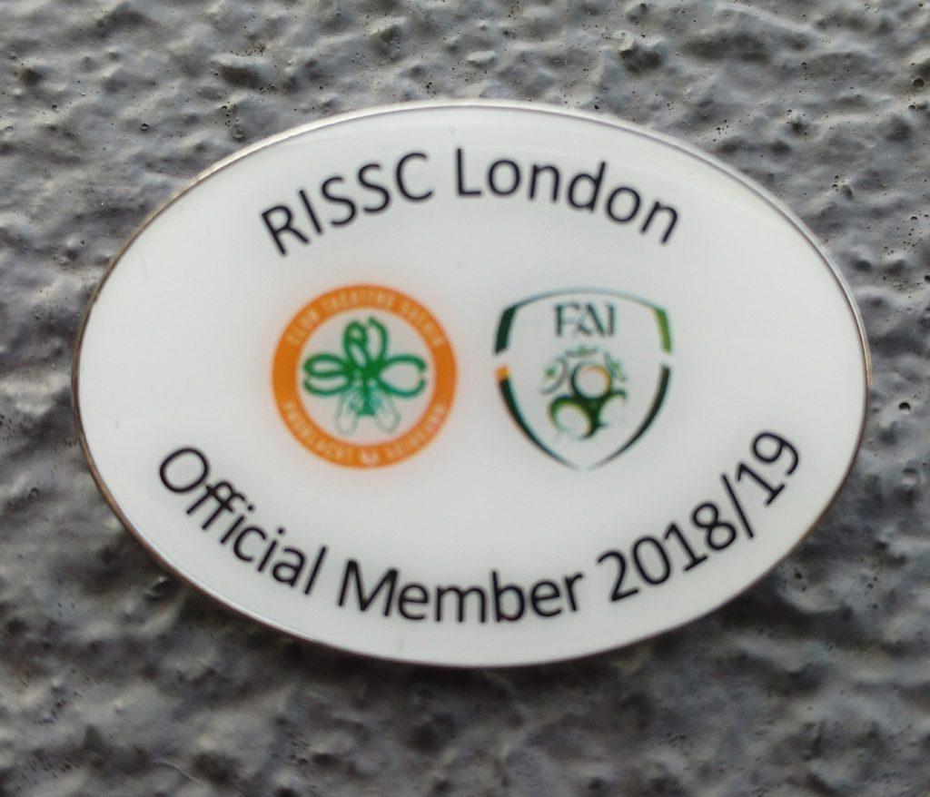 2018/19 Member Badge
