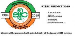 RISSC Predict 2019