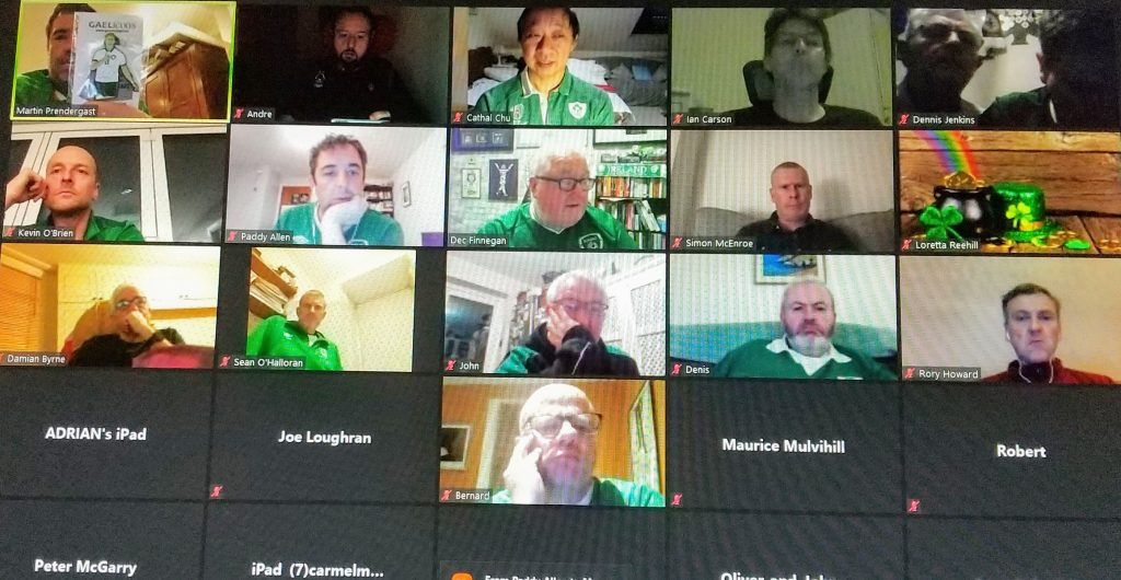 RISSC London - St Patrick's Day Zoom Meeting